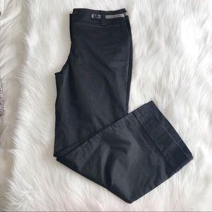 LOFT Marisa Boot Leg Black Pant SZ 10